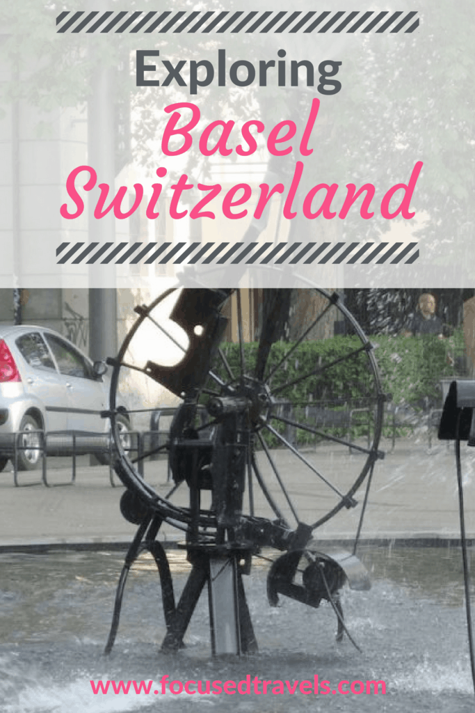 Exploring Basel Switzerland on foot and by tram. Basel Switzerland things to do