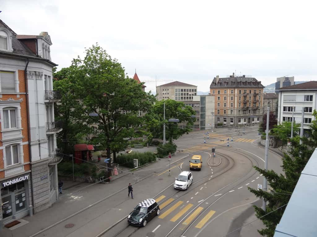 Leoneck Hotel Zurich View from Room