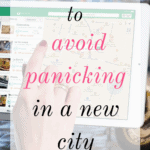 A free app to avoid panicking in a new city