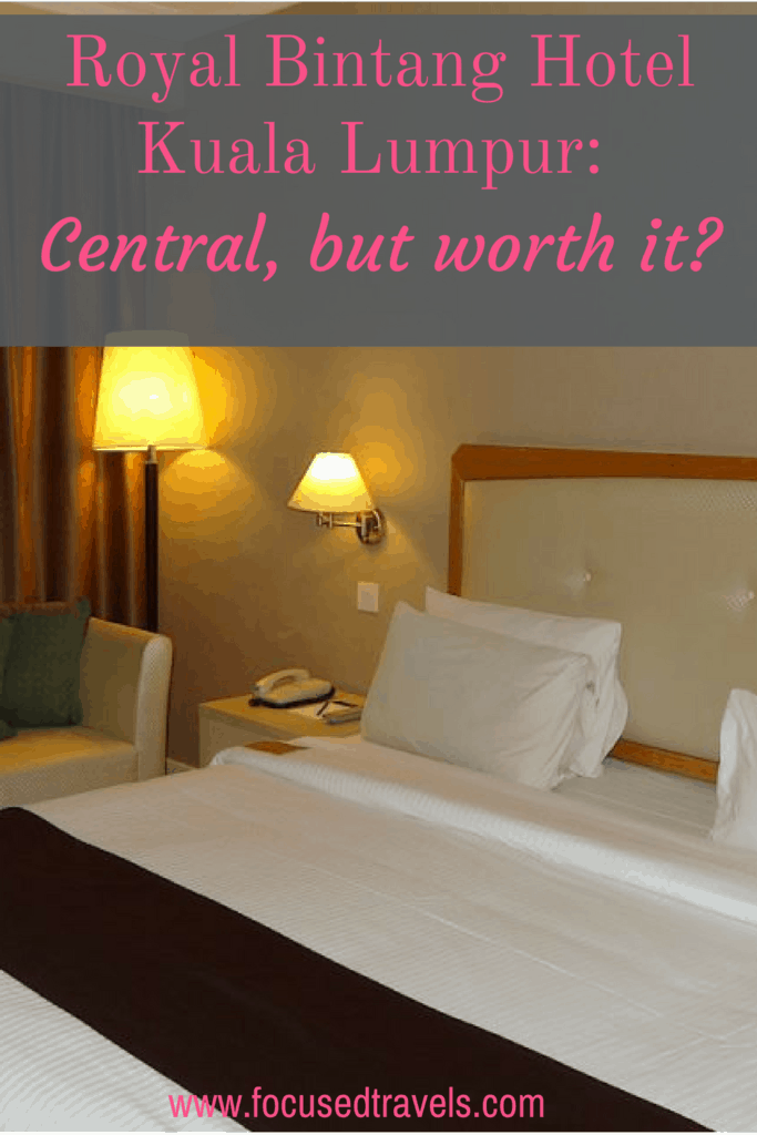 Royal Bintang Hotel: centrally located, but is it really worth staying there?