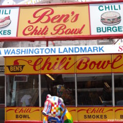 Ben's chilli bowl for the best chilli bowl in Washington DC