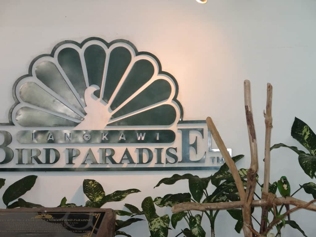 Entrance of the Langkawi Bird Paradise