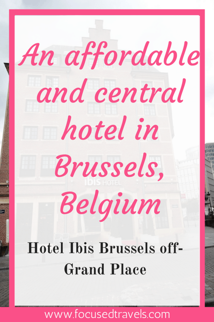 Hotel ibis Brussels off-grand place in Belgium
