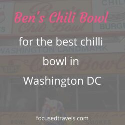 Ben's chilli bowl – the best chilli bowl in Washington DC