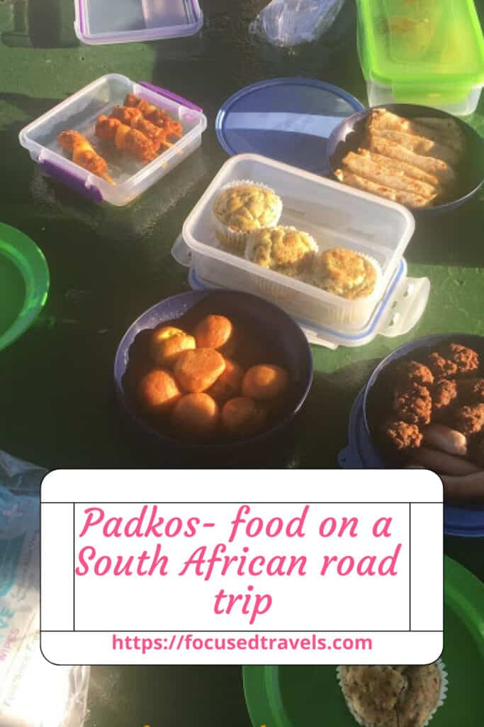Padkos- food on a South African road trip