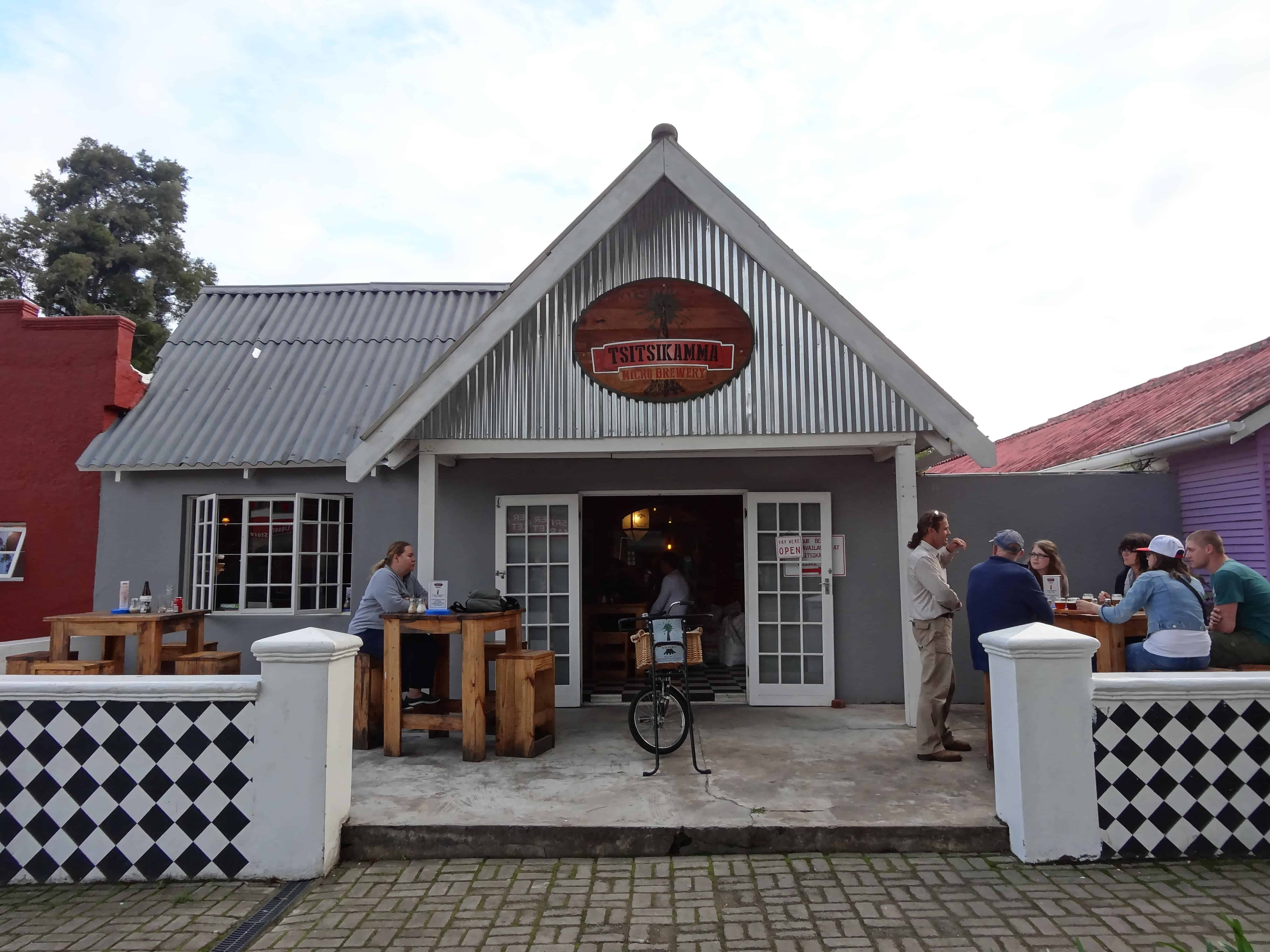 Stormsriver Village's microbrewery