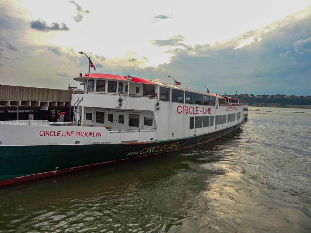 Circle Line Sightseeing Cruises - ready for the Harbour Lights tour