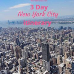 How to spend 3 days in New York: our New York itinerary
