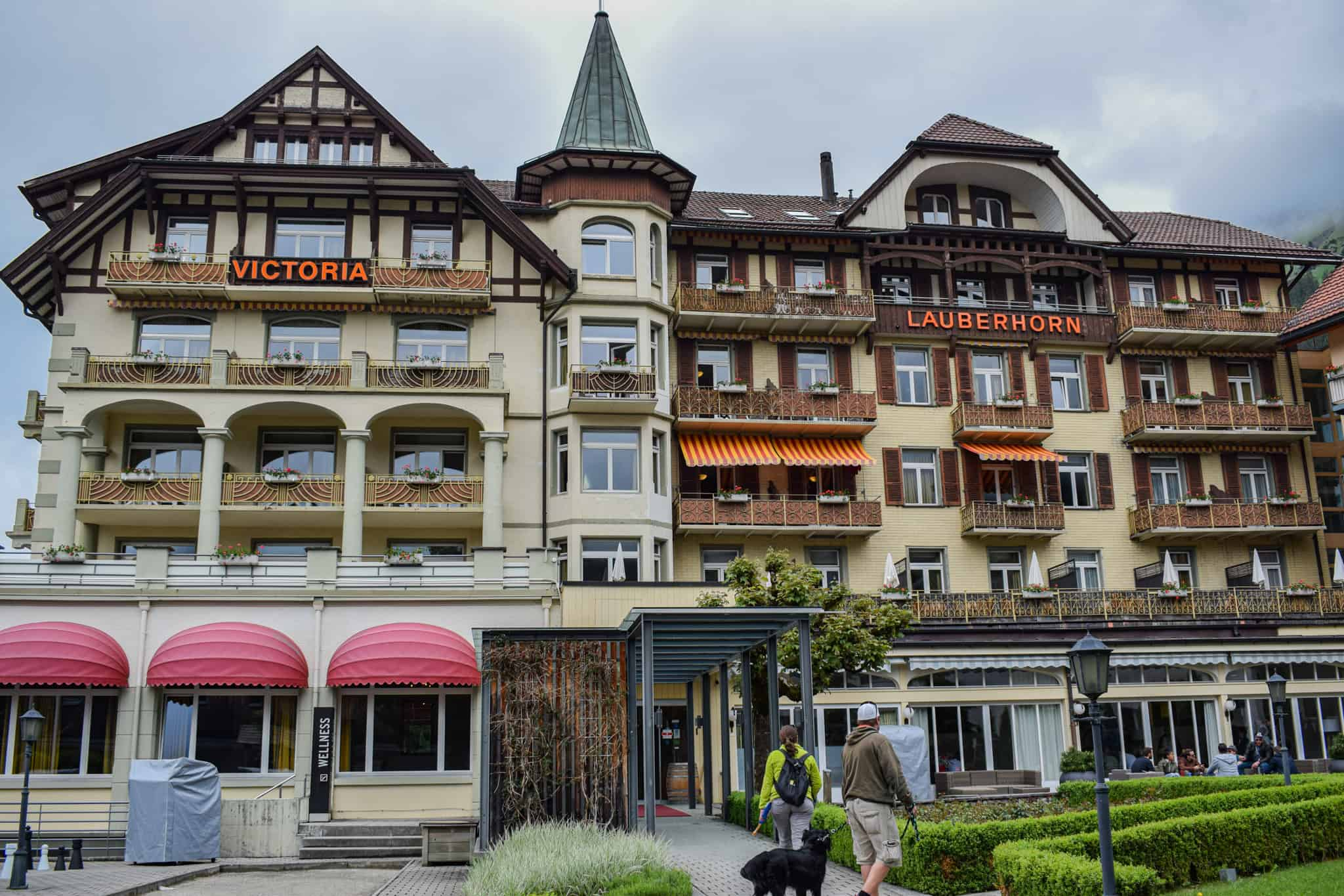 best wengen hotel - hotel and spa victoria lauberhorn - hotel building