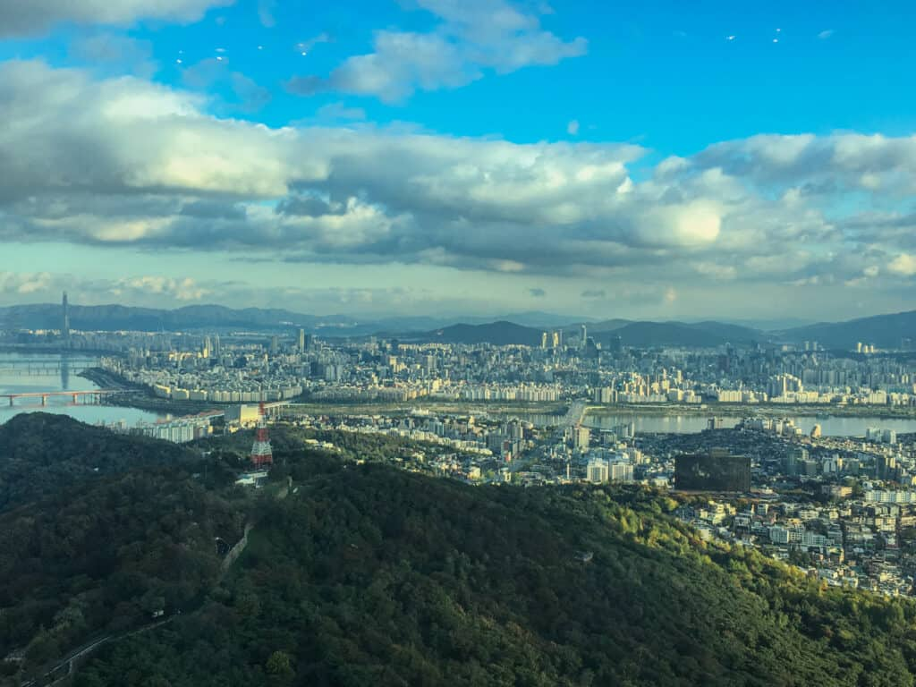Namsan Seoul Tower - stunning views from the top