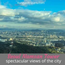 Seoul Namsan Tower: spectacular views of the city