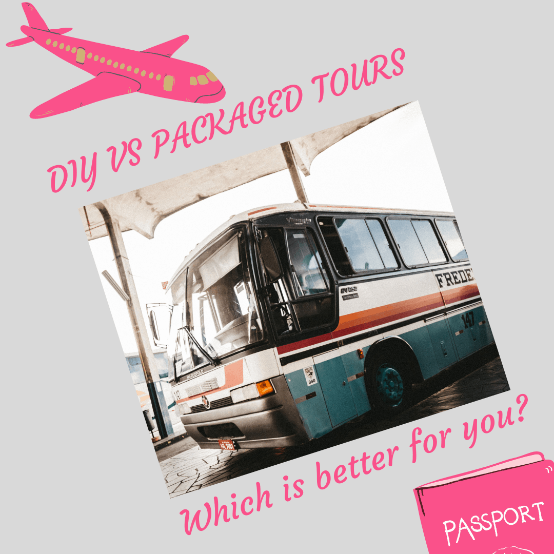DIY vs packaged tours - which is better?