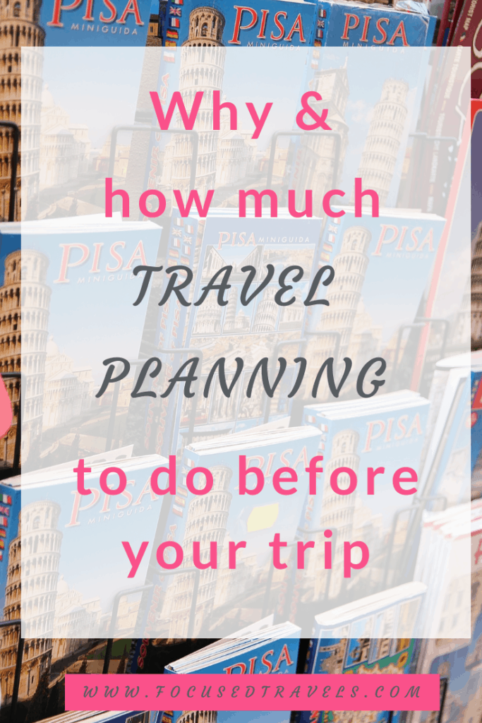 How much travel planning