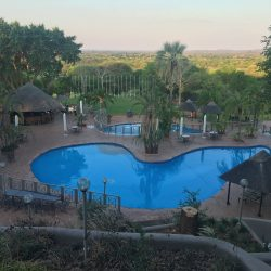 Review of the magnificent Elephant Hills Hotel in Zimbabwe