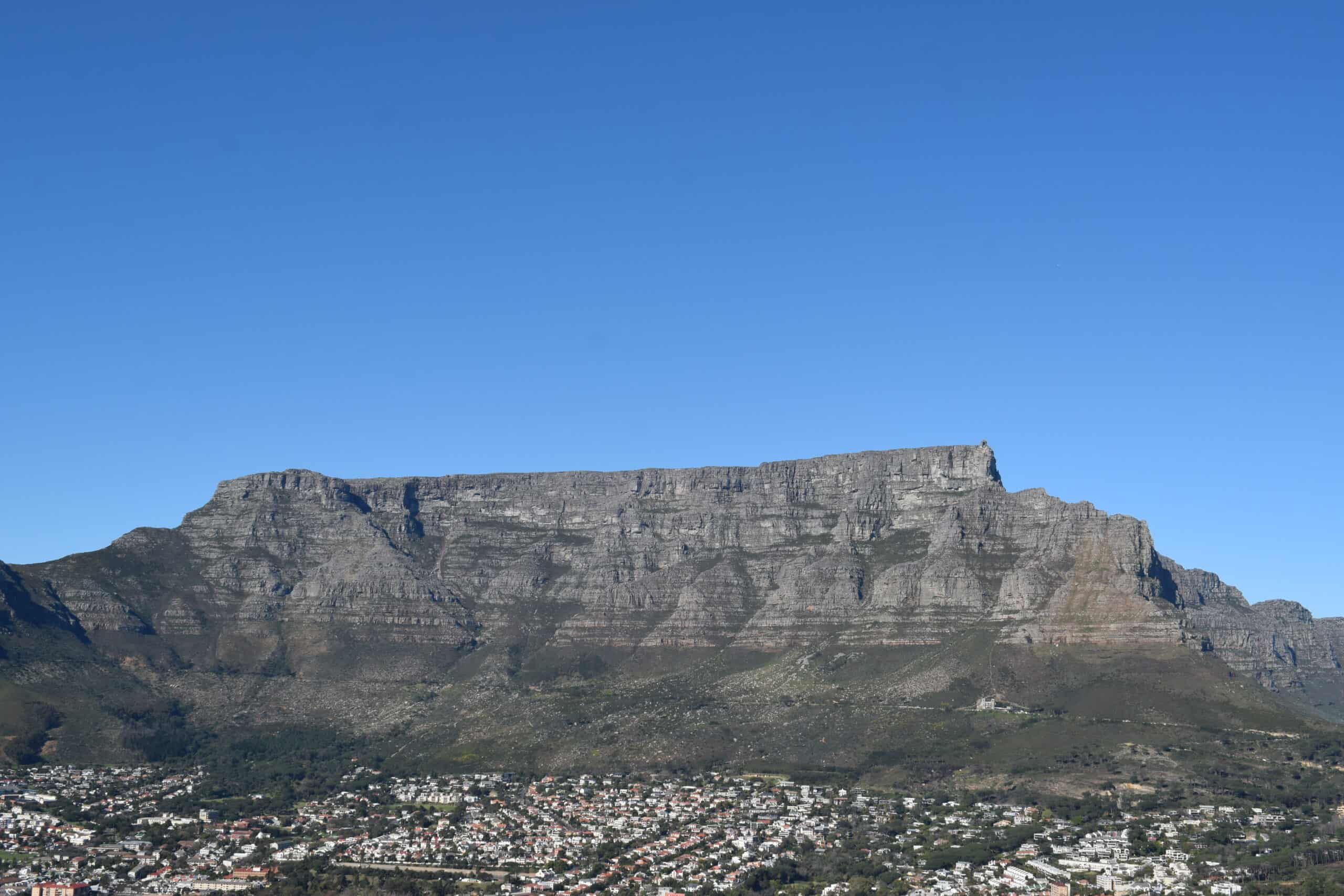 Travel Tips South Africa Table Mountain