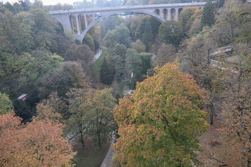 Adolphe Bridge Luxembourg City