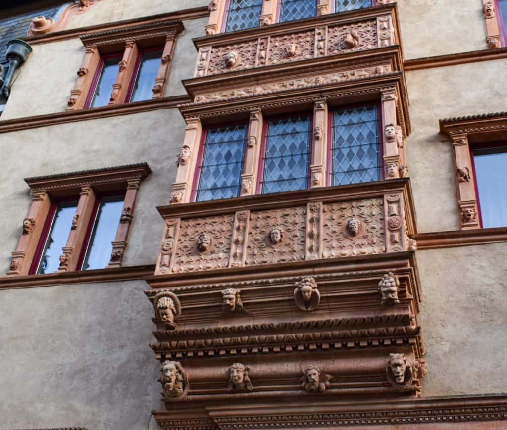 House of Heads Colmar - Things to do in Colmar