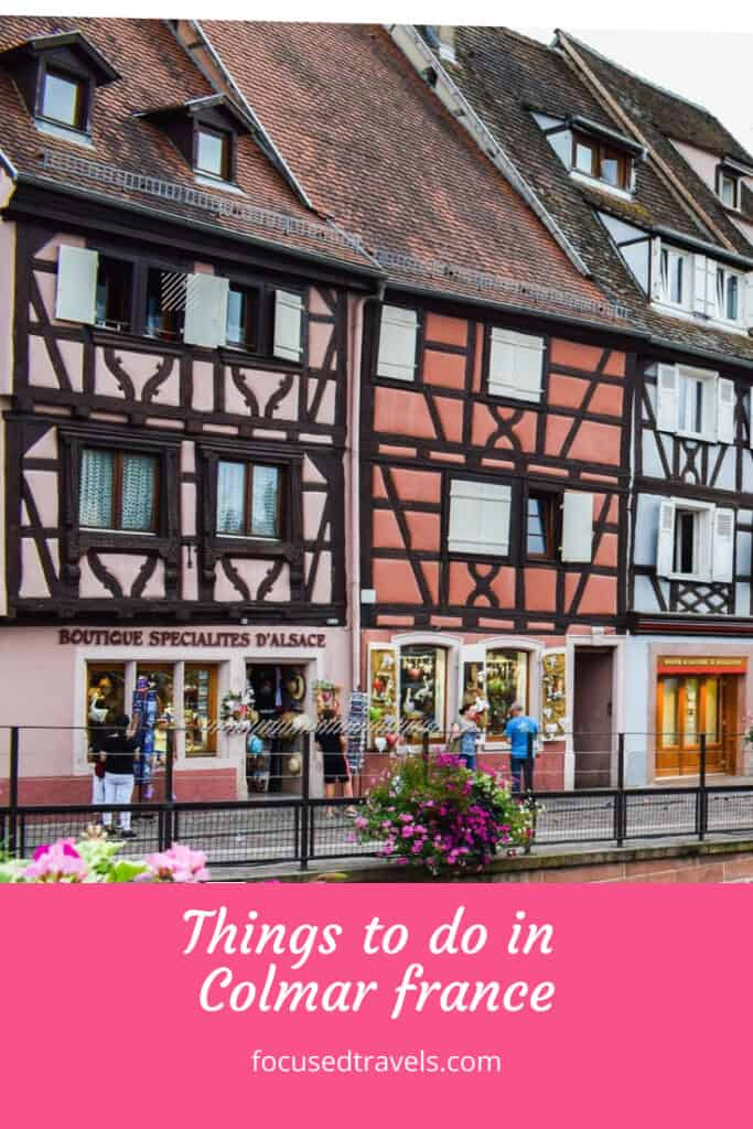 Things to do in Colmar France - Pinterest Graphic
