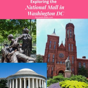 National Mall in Washington DC - Square Graphic Post