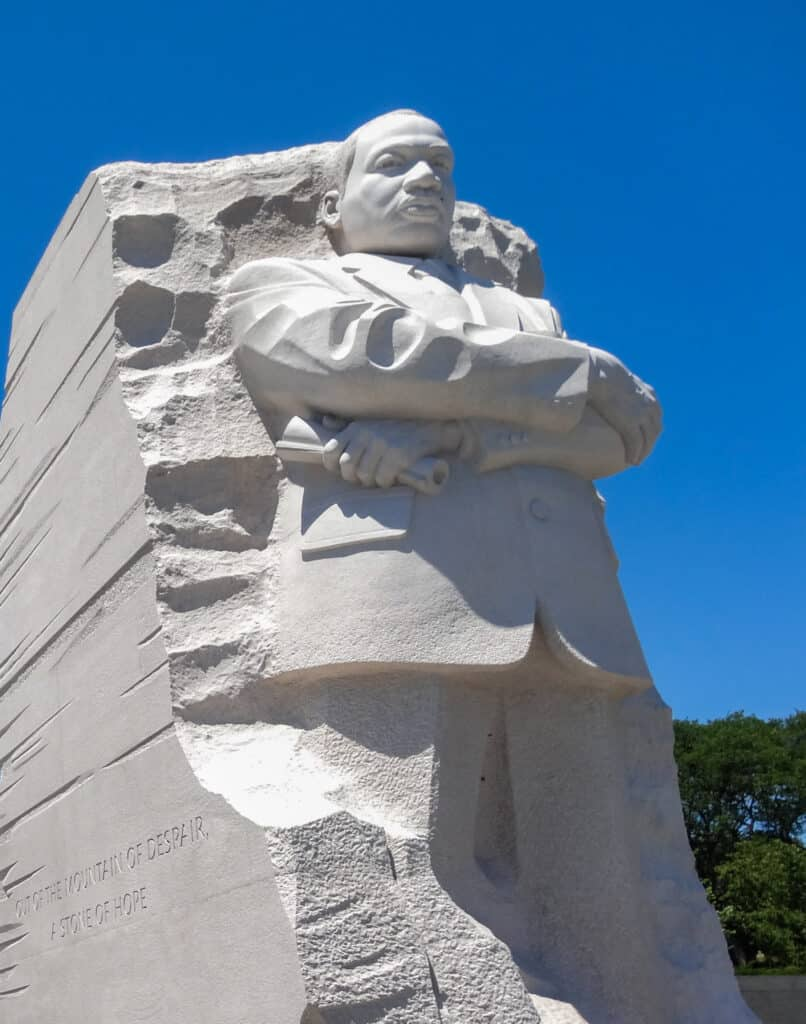 National Mall in Washington - Martin Luther King Junior Memorial