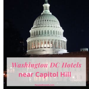 Washington DC Hotels Near Capitol Hill - Square Graphic Post