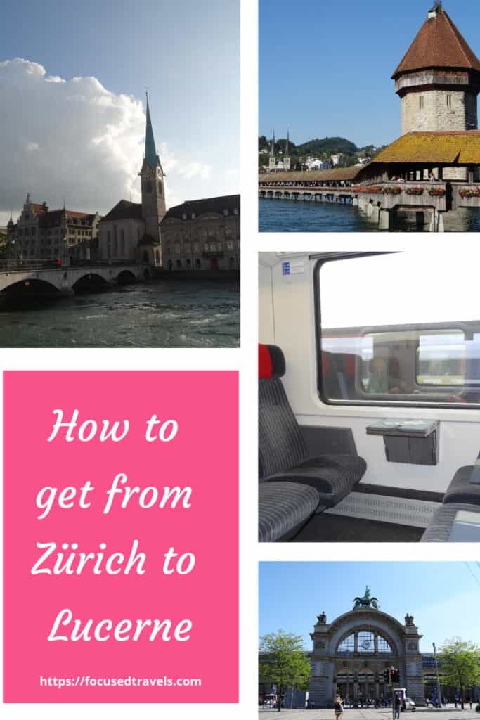 How to get from Zürich to Lucerne